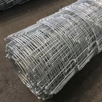Buy cheap Galvanized Iron Wire Horse Field Fence High Flexibility Good Shock Resistance from wholesalers