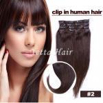 Buy cheap Smooth Soft Pre Bonded Dip Dye Hair Extensions / Dark Brown Virgin Hair from wholesalers
