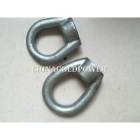 Q235 Material Power Line Fittings ISO Certification Forged And Casted Eye Nut