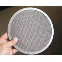 Buy cheap Woven Wire Mesh Filter Disc SS Materials High Strain Ability Long Lifespan from wholesalers
