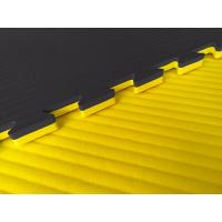 Buy cheap High Density 100% EVA Jigsaw mat 1*1m with 40mm used for Judo, Karate and gym sport field from wholesalers