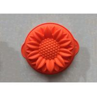Buy cheap Food Grade Handmade Sunflower Silicone Cake Baking Molds Non Stick Washable from wholesalers
