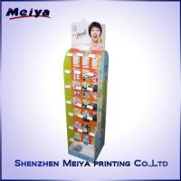 Buy cheap Double Side Girls Lipstick Hook Display Stand , Cardboard hook display rack Printed from wholesalers