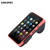 Buy cheap 5.5 Inch Wireless Portable Pos Terminal 58mm Paper Width 1GB RAM And 4 / 8G ROM from wholesalers