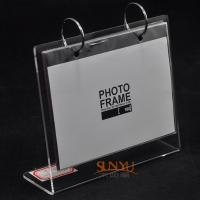 Buy cheap Durable Custom Picture Frames/ Acrylic Photo Frames Logo Printing from wholesalers