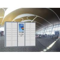 Buy cheap Smart easy management easy use parcel delivery locker for station airport use from wholesalers