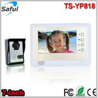 Buy cheap Saful Saful TS-YP818 1v1 cheapest 7-inch TFT LCD wired video door phone peephole intercom door bell door ring from wholesalers