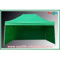 Buy cheap Professional Folding Tent 210D Oxford Cloth With 3 Sidewalls Fire-proof from wholesalers