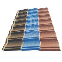 Buy cheap New Zealand Stone Coated Roofing Sheet Nigeria Wholesale Price Metro Tiles from wholesalers