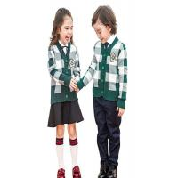 Buy cheap Fashion Knitted School Uniform Cardigan Sweaters , Girls Uniform Cardigan Soft Feeling from wholesalers