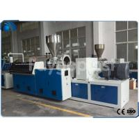 Buy cheap Conical Twin Screw Profile Extrusion Line For Wood Plastic Composite Profile from wholesalers