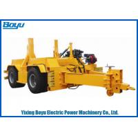 Buy cheap 30T Reel Carrier Trailer Drum Transport Truck Transmission Line Stringing Tools Accessories from wholesalers