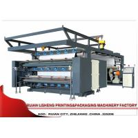 Buy cheap Web Poly Plastic Film PP Woven Flexographic Printing Machine , 3 Color from wholesalers