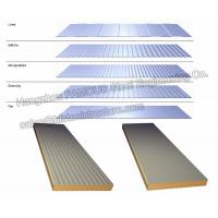 Sandwich Panels Types : High airtightness seafood commercial walk in freezer