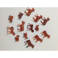 Buy cheap ABS plastic animals cows,horse and sheep on the farm, Model architectural design from wholesalers