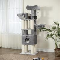 Buy cheap Eco Friendly Small Modern Cat Tree Premium XXL Plush Perch Durable Compact from wholesalers