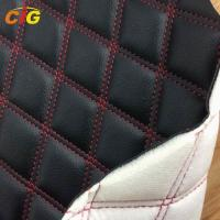 Buy cheap PU Synthetic Leather Fabric Bonded Sponge And Nonwoven For Furniture / Carpet product
