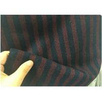 50W 50S Red And Black Striped Fabric, Micro Twill FabricLightweight 150CM
