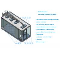 Buy cheap Class 100 Sandwich Panel Clean Room With Air conditioner And 99.99% HEPA Filter from wholesalers