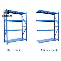 Buy cheap Steel Powder Coated Galvanized Easy Assemble Selective Pallet Racking from wholesalers