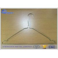 Buy cheap YS105 Galvanized Wire Coat Hangers For Laundry Thickness 2.2mm 16 Inches from wholesalers