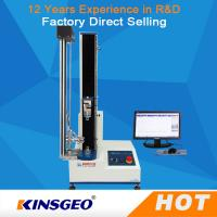 Buy cheap USA Sensor Single Column Compression Testing Machine , Paper Pressure Testing Equipments with PC Control from wholesalers