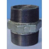 Buy cheap Galvanized malleable iron pipe fitting nipple from wholesalers