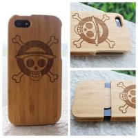 Buy cheap 2016 Laser engraving bamboo wood mobile phone case for iphone 5 6 6s plus, for samsung galaxy s6 s7 edge wood case cover from wholesalers