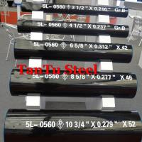 Buy cheap API 5L ERW Steel Pipe 610 (24) x 6.4 Gr. X60 By Tantu product