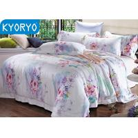 Buy cheap Hotel Flower Cotton 4PCS Twin Bedding Sets Soft Comfortable With Customized from wholesalers