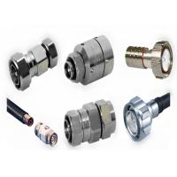 Buy cheap High Frequency Silver N Type RF Connector For Feeder Line Cable from wholesalers