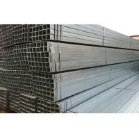 Buy cheap Welded Hot Dipped Galvanized Steel Rectangular Tube ASTM A500 / A53 from wholesalers