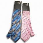 Buy cheap 100% Silk Neckties in Various Designs, Measures 145 x 6 x 4cm from wholesalers