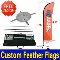 Buy cheap Promotional Swooper Feather Flags from wholesalers