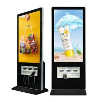 Buy cheap 55 Inch Standing LCD Advertising Display With Wire And Wireless Charging Station USB Interface from wholesalers