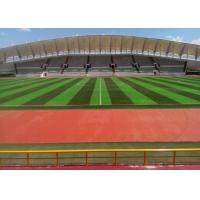 Buy cheap Diamond Shape Playground Artificial Grass Monofilament Yarn Playground Synthetic Grass from wholesalers