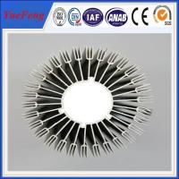 Buy cheap custom aluminium extrusion heatsink, OEM aluminum heatsink extrusion profile from wholesalers