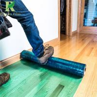 Buy cheap 70 Micro Green Hardwood Floor Self Adhesive Covering Protective Film from wholesalers