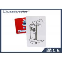 Buy cheap Smart Door Access Control ID Card Full Color Printing HF 13.56Mhz from wholesalers