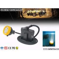 Buy cheap Waterproof Coal Miners Headlamp , 6.2Ah Battery 3W Power LED Mining Lamp from wholesalers