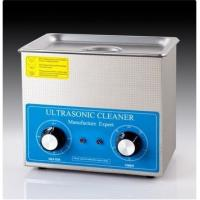 Buy cheap CE Approval 0.6 Kw Benchtop Ultrasonic Cleaner White Color For Clock Parts from wholesalers
