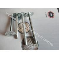 Buy cheap Galvanized Steel Insulation anchor Pins For Mineral Wool Wall Inaulation Board from wholesalers