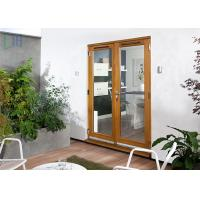 Buy cheap Commercial Double Glass Aluminium Casement Door Air Proof With German Hardware from wholesalers
