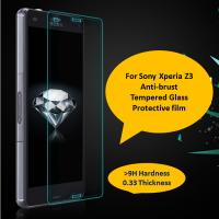 Buy cheap 0.33mm ultra thin 9H high transparency Sony Xperia Z3/Z2 tempered glass screen protector from wholesalers