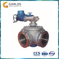 Buy cheap SZF946 waterworks water supply 4 way ball valve from wholesalers