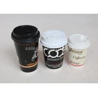 Buy cheap Double Wall Food Grade Hot Drink Paper Cups With Lids 320ml For Hot Beverages from wholesalers