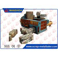 Full Automatic PLC Steel Pipes Waste Aluminum Scrap Metal Balers 250x250mm