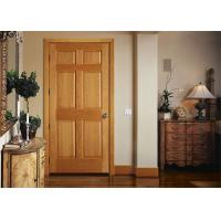 Buy cheap Bathroom Wood Plastic Composite Doors Customized Color , 19-40mm Door Frame Thickness from wholesalers
