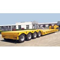 Buy cheap TITAN VEHICLE  120 ton hydraulic detachable neck lowboy trailer for sale from wholesalers