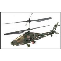 Buy cheap 3.5 Channel Super Apache RC Electric Military Gyro Helicopter from wholesalers